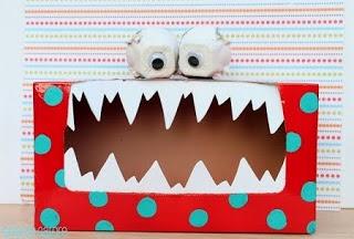Idées pour Recycler le Carton à Halloween