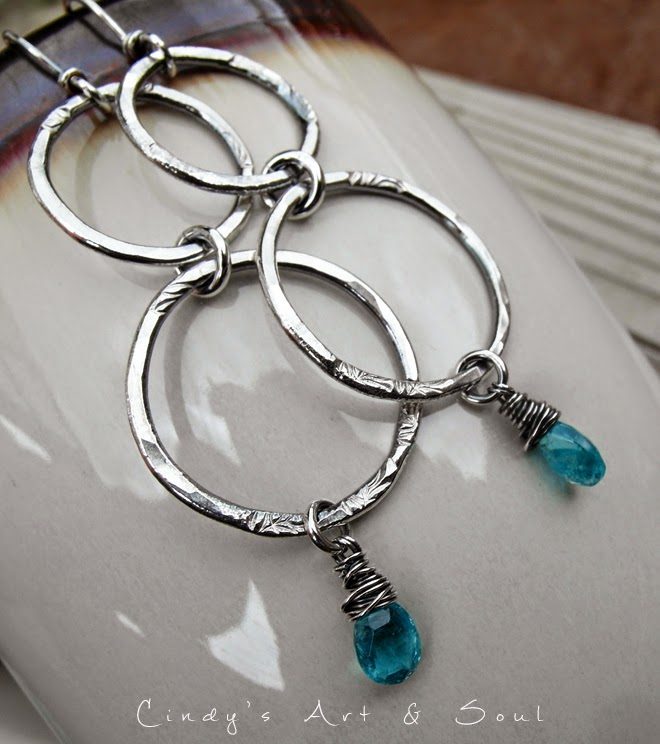 https://www.etsy.com/listing/190960246/blue-gemstone-hoops-hoop-earrings-pure