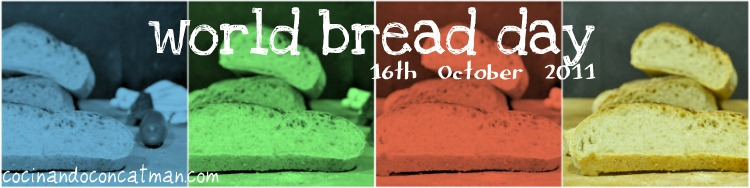 bannerpan Pan Moreno Mallorquín [Mallorcan Brown Bread] World Bread Day 2011