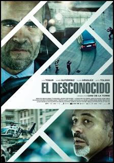 Cartel de El desconocido (Dani de la Torre, 2015)