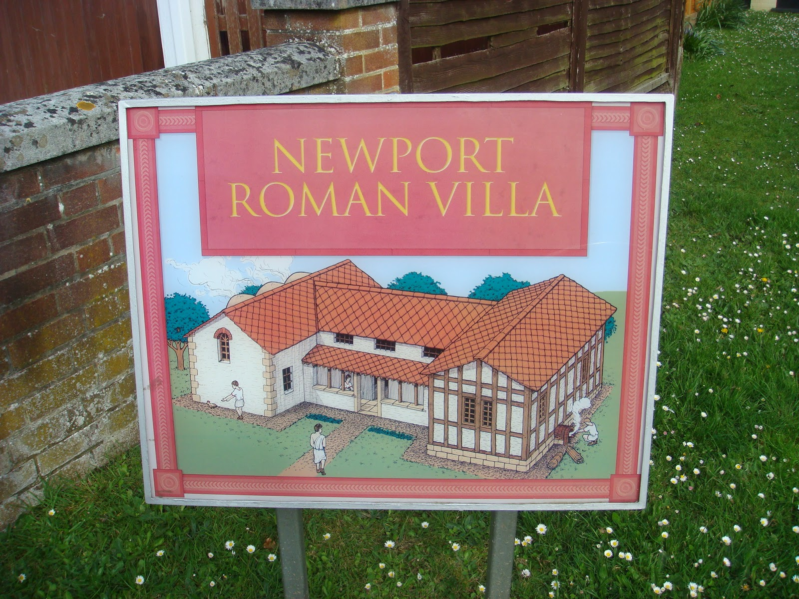 Roman Villa In Newport Isle Of Wight