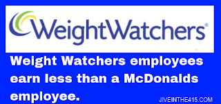 Weight Watchers logo amid employee unrest