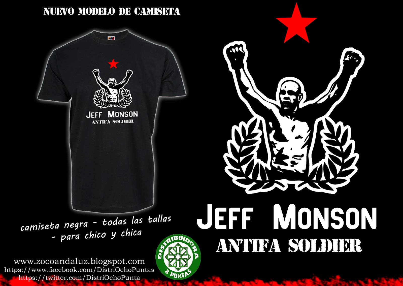 Camiseta Jeff Monson