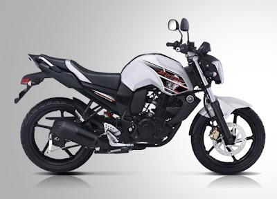 Gambar Motor Yamaha Byson Putih