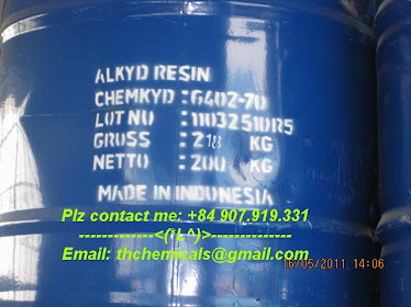 ALKYD resin - 6402-70 - short oil - sơn lót