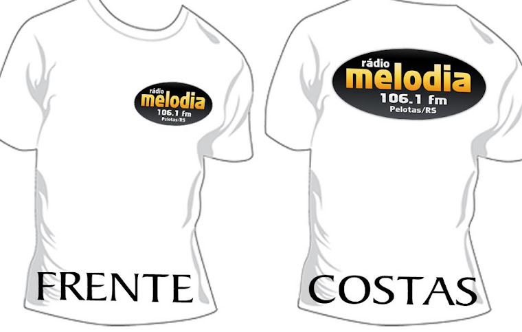 Novas Camisetas da Melodia fm