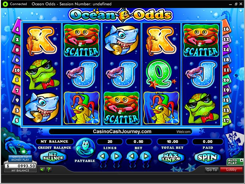 Игровые автоматы Ocean Odds