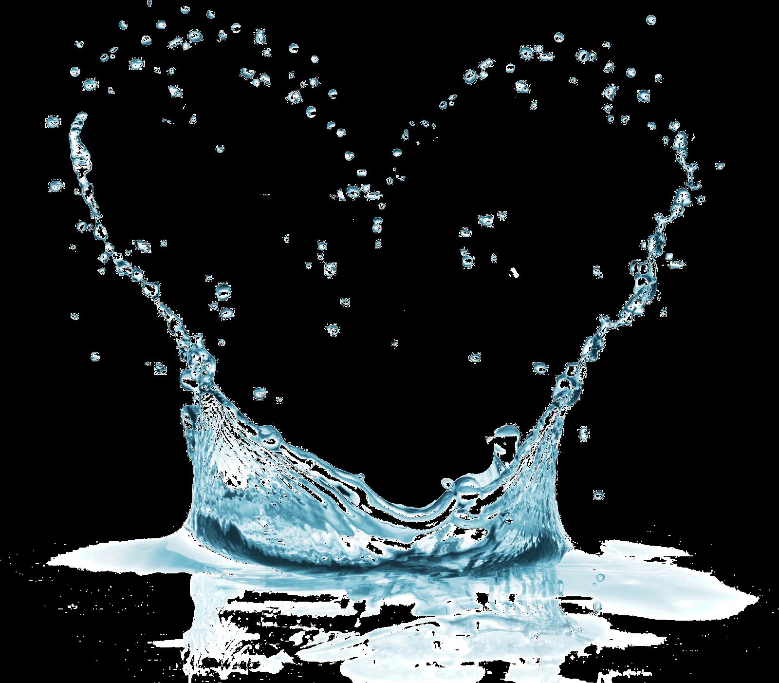 water splash heart   P...