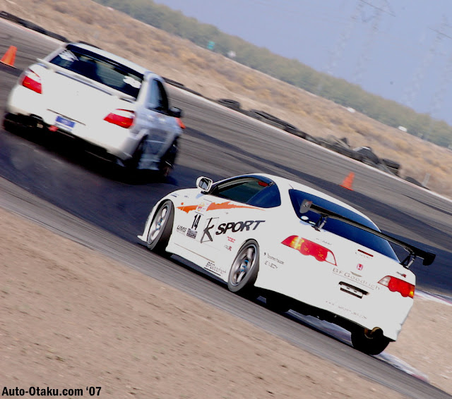 Subaru Impreza II GD & Honda Integra IV DC5, boxer, VTEC, japoński sportowy sedan, coupe, wyścigi