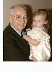 My Granddaughter, Lindsey, and My Dad, Don Ghiata