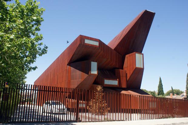 Blog de p rez lacasa arquitectos iglesia de santa m nica rivas vaciamadrid vicens ramos - Casas en rivas vaciamadrid ...