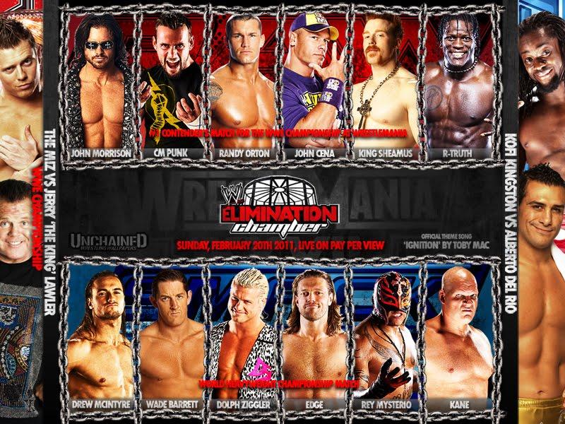elimination chamber 2011. Wwe Elimination Chamber 2011: