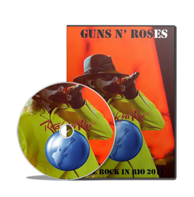 Show: Guns n' Roses: Rock in Rio 2011