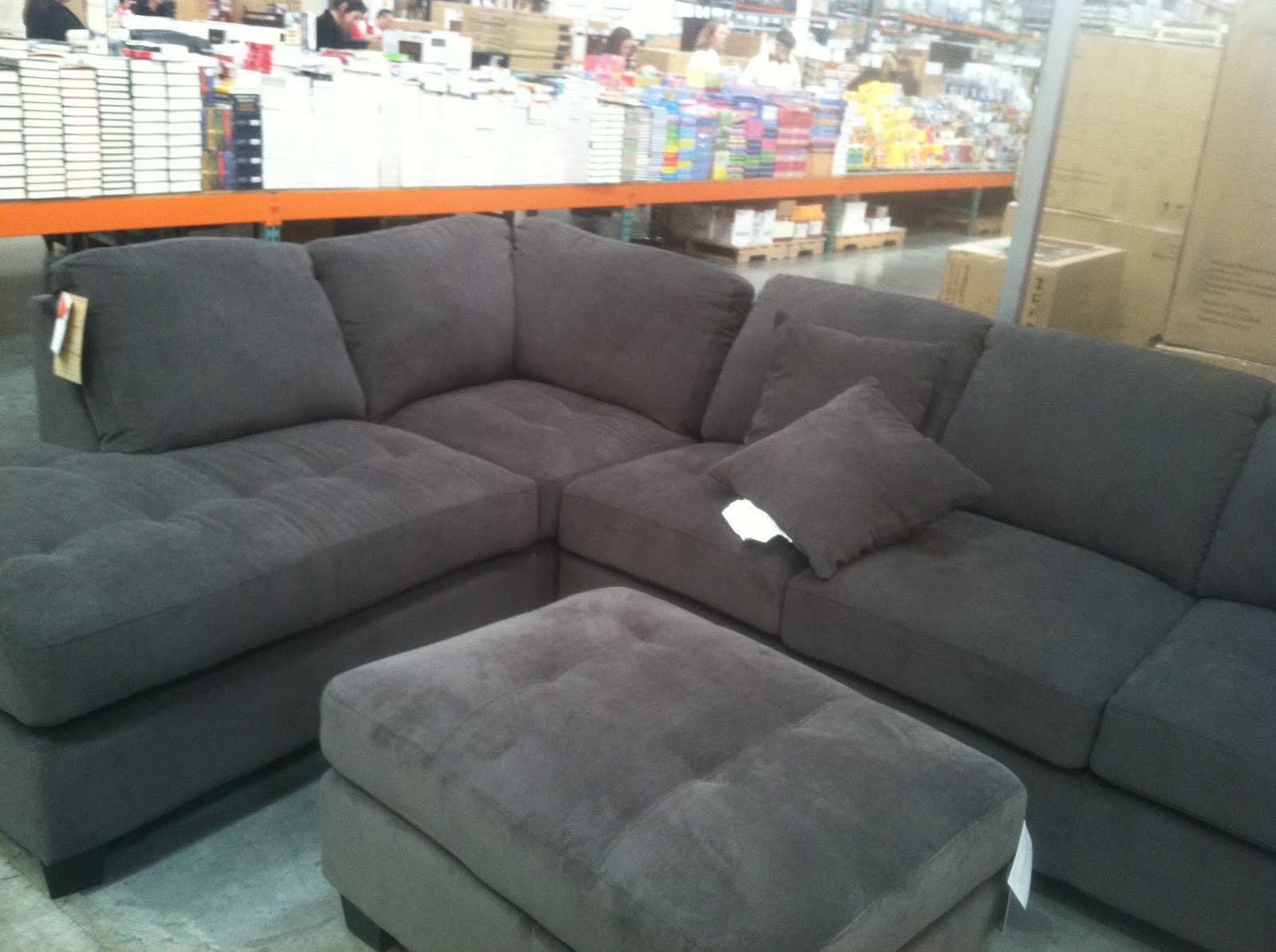 Sofa At Costco Grey Couch From Costco Similar To Ones We