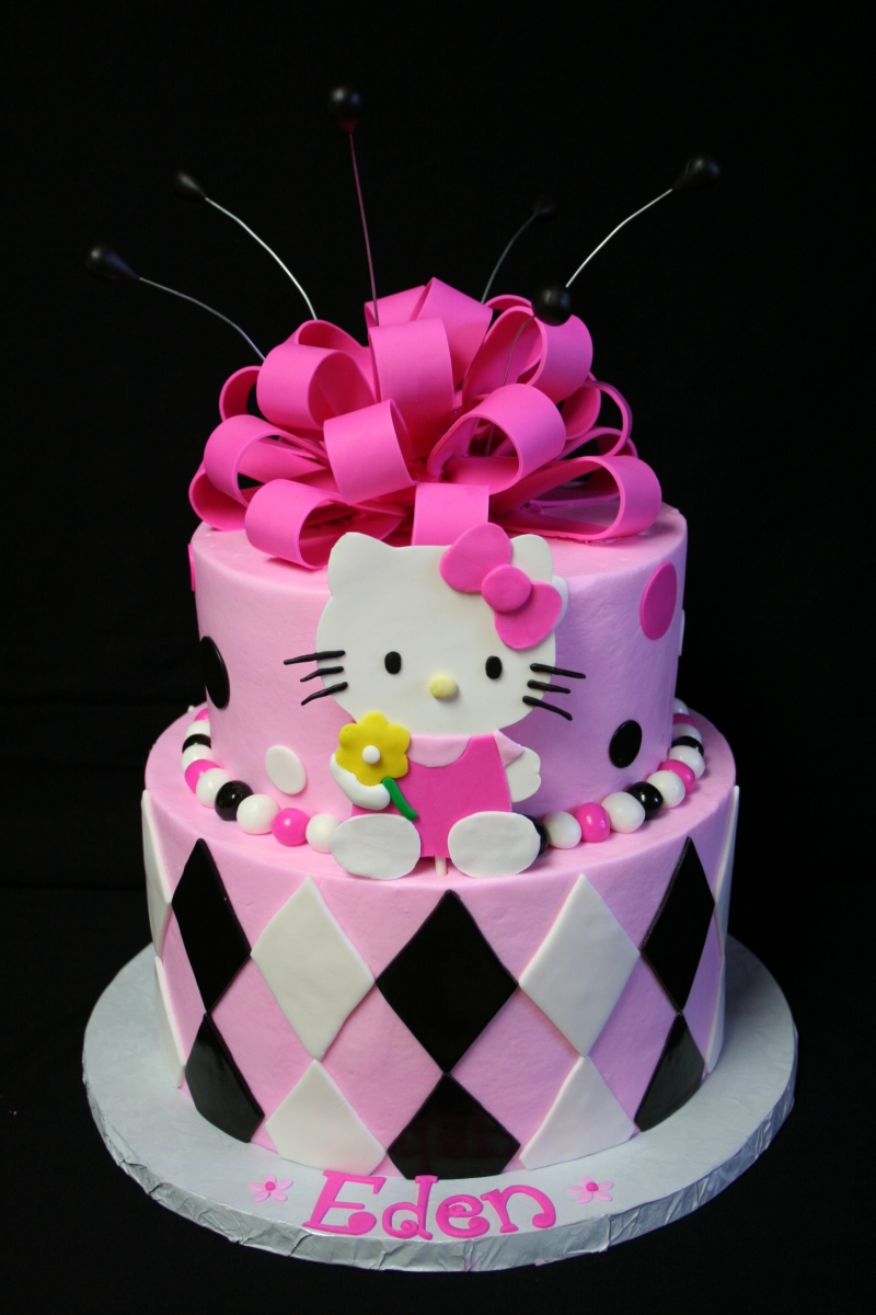 Images Of A Hello Kitty Cake : Kanny Theng ????: Hello Kitty Birthday Cakes