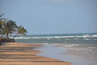 beautiful praia in camamu