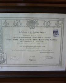 TÍTULO DE LICENCIADO EN FILOSOFÍA Y LETRAS (SECCIÓN DE HISTORIA)