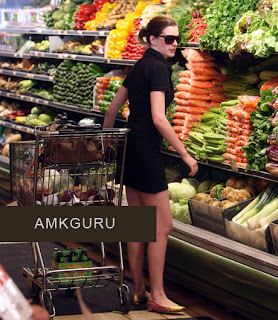 Anne Hathaway buying Radishes