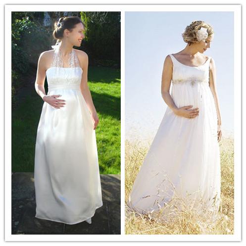 choose perfect wedding dresses for pregnant bride. Black Bedroom Furniture Sets. Home Design Ideas