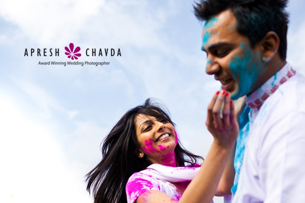Holi Pre Wedding Shoot by Apresh Chavda
