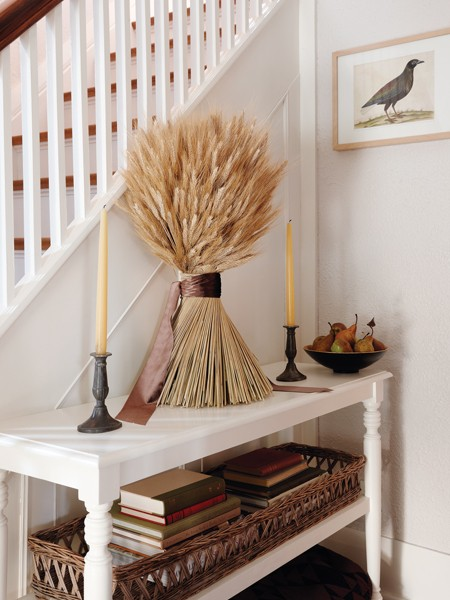 Decorating for Autumn: Inspiration from Home Magazines - Setting ...