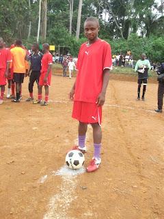ballon-yves Foot vacances dans Sport
