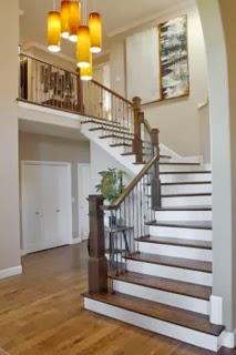 gambar contoh tangga rumah sederhana