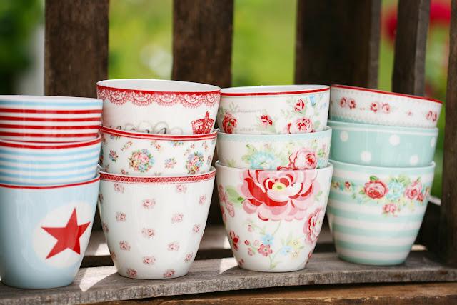 Green Gate Latte Cups