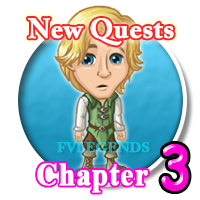FarmVille Mystical Groves Chapter 3rd (3) Quests Icon