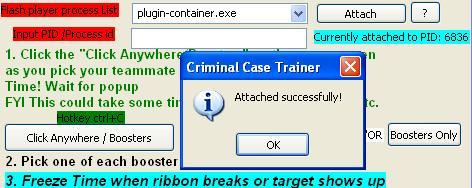 Criminal Case Trainer v1.1.2 | Hack & Cheats Criminal Case. Imagem+1