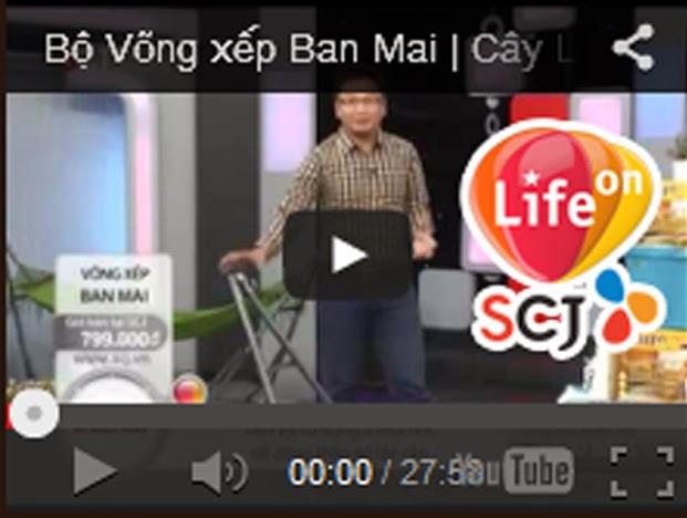 Video giới thiệu SP trên SCJ Shopping