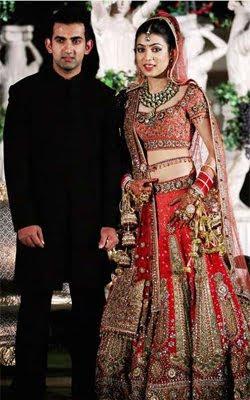 Gautam Gambhir Marriage Stills