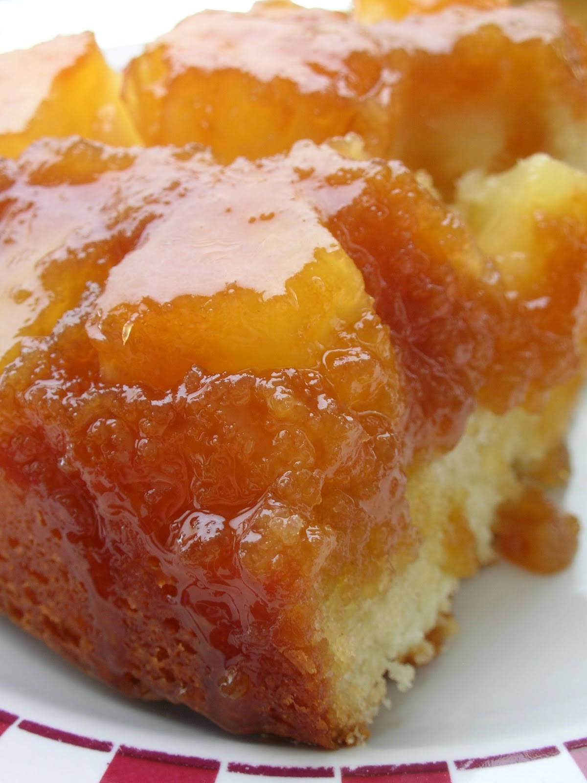 Basil: Pineapple Upside Down Cake