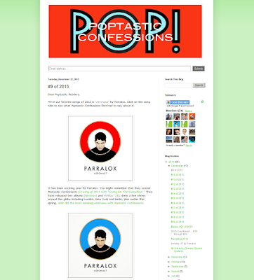 Aeronaut - #9 Song of the Year 2015 on Poptastic Confessions