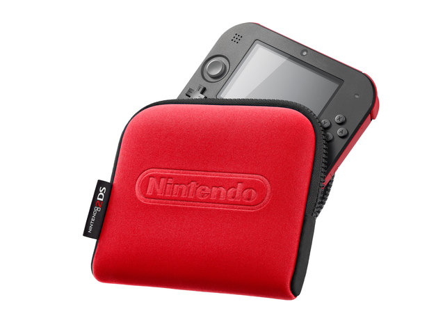 Nintendo 2DS New Case red