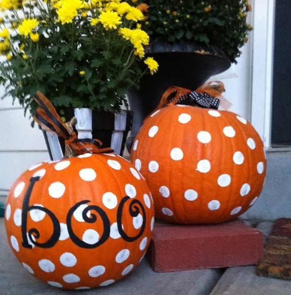 Never new halloween diy ideas - Cute pumpkin painting ideas ...