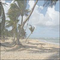 Ventos nas ilhas do Caribe
