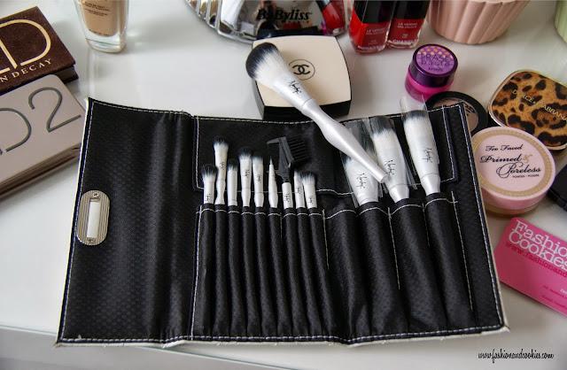 Nanshy Makeup brush set, set pennelli Nanshy, Fashion and Cookies, fashion blog