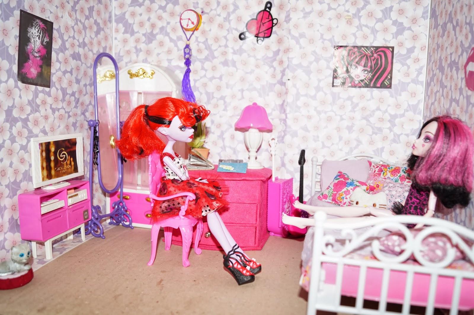 Как сделать мебель для кукол монстер хай? LS 88