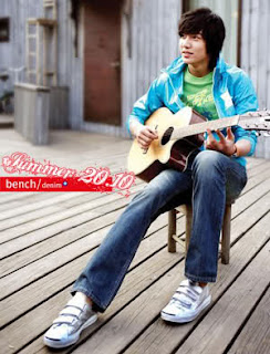 Lee Min Ho Bench