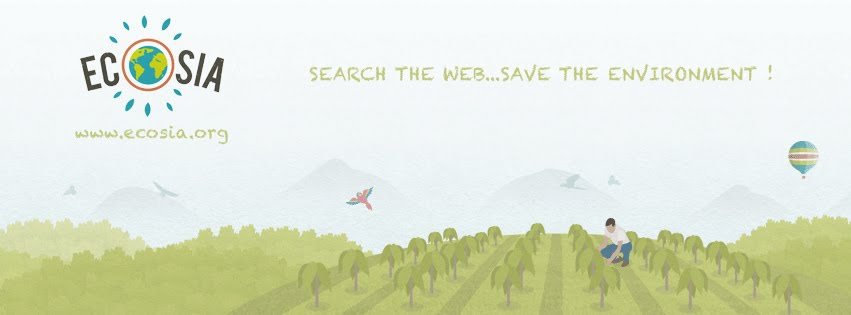 Use a green search engine: