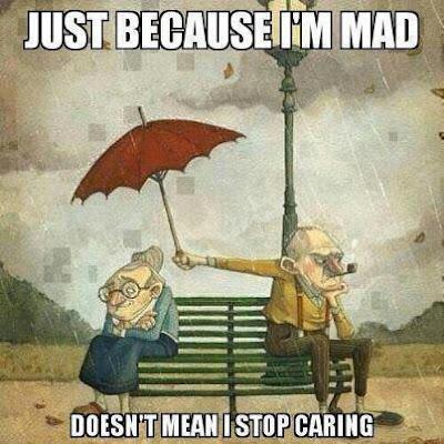 senior couple dating love