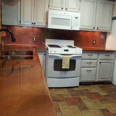 countertops benefits kitchen epoxy modern fix burnt of countertop