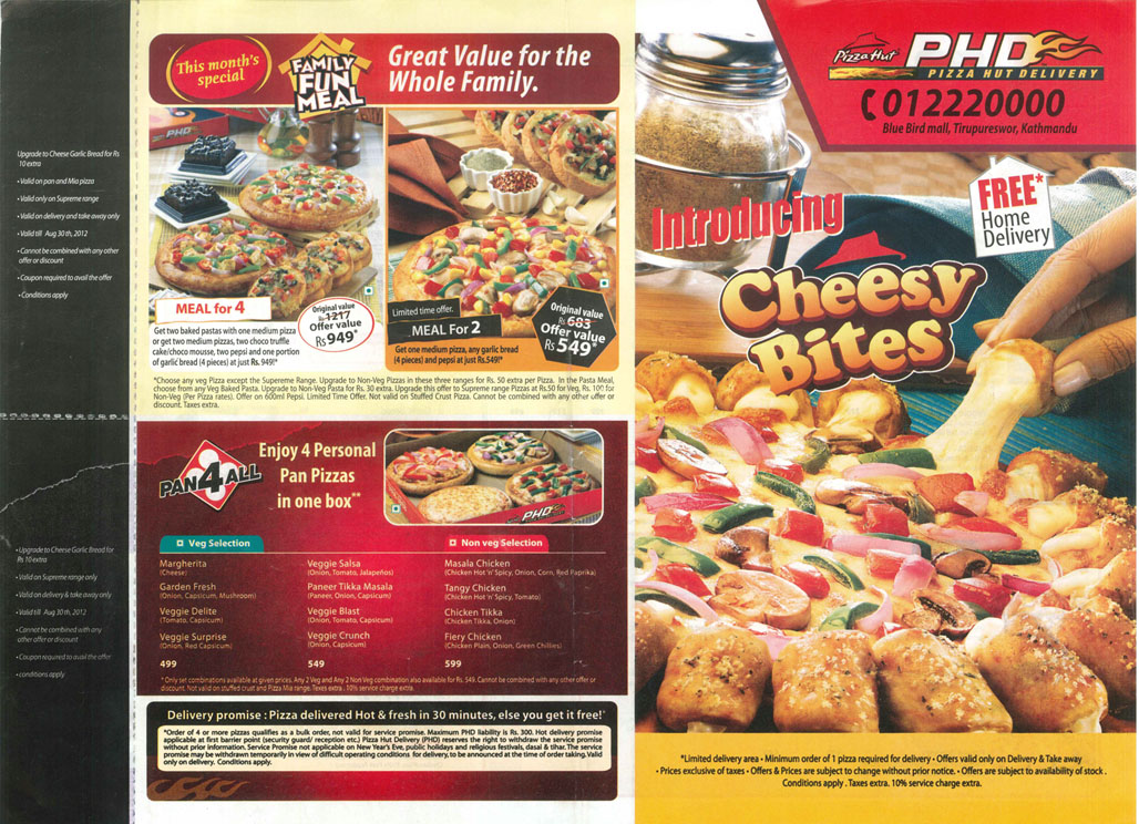 No 1 Source Of Entertainment From Nepal Kfc And Pizza Hut Nepal