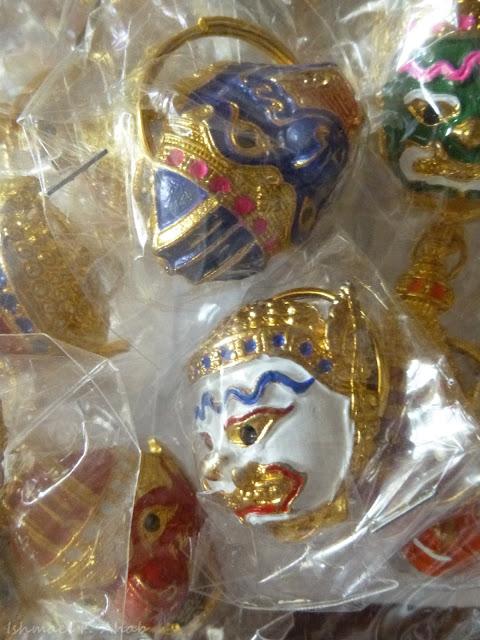Thailand souvenir - Thai key chains