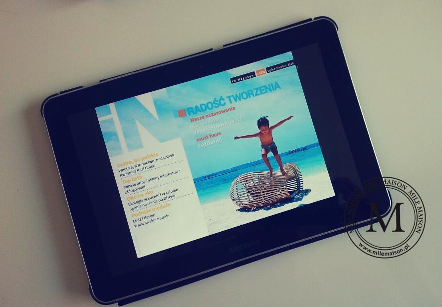 In Magazyn - czasopismo wnętrzarskie na tablety