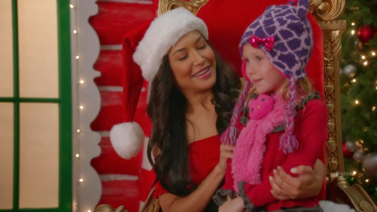 nessa situao fictcia em que estamos de volta ao fim de 2012 santana vai para nova york apenas para uma visita natalina a berry e lady hummel - Glee Previously Unaired Christmas