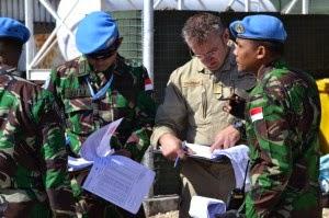 UNIFIL Periksa Kesiapan Operasional Batalyon Mekanis TNI di Lebanon
