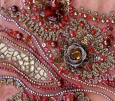 HAND BEAD EMBROIDERY - EMBROIDERY DESIGNS