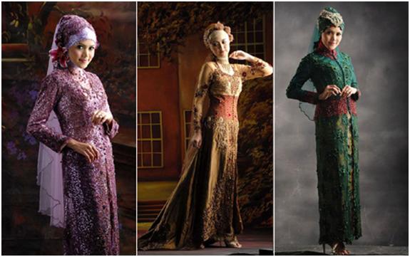 Itulah beberapa share gambar Model baju kebaya muslim modern-terbaru